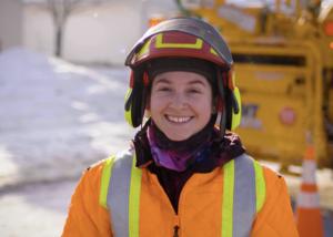 City Of Regina employee in Marketing Video
