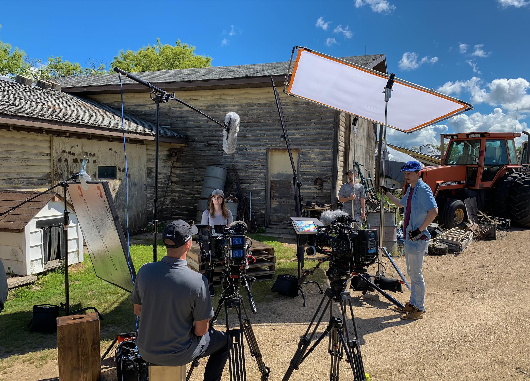 Halter Media filming a documentary video